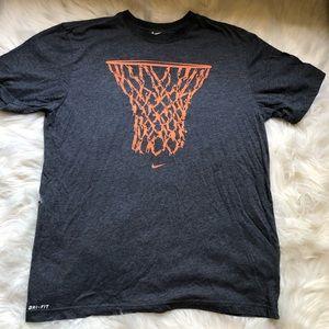Nike Dri Fit Basketball Tee Shirt Large